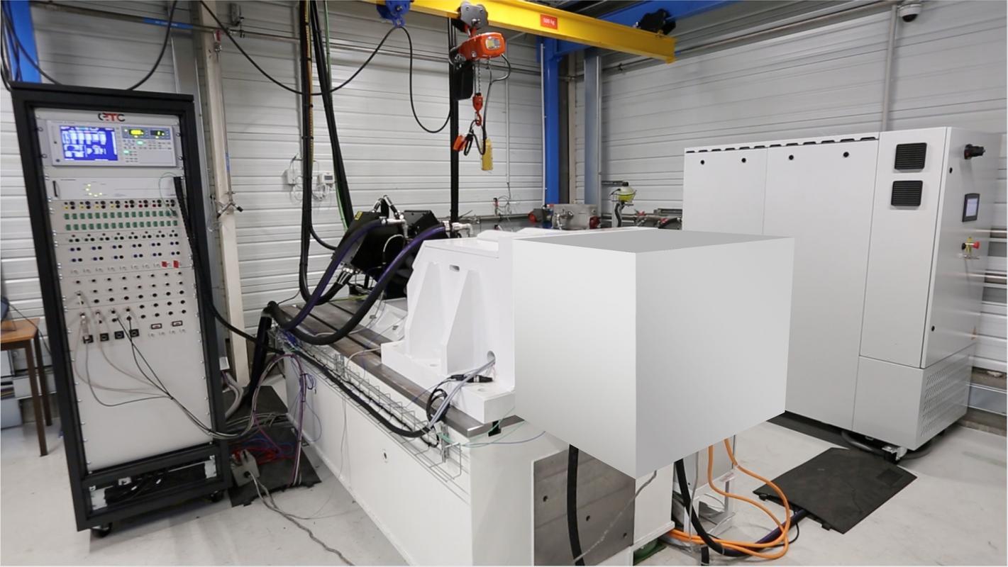 Banc e-motor Eclair dédié à la conception et la validation de chaines de traction électrifiées