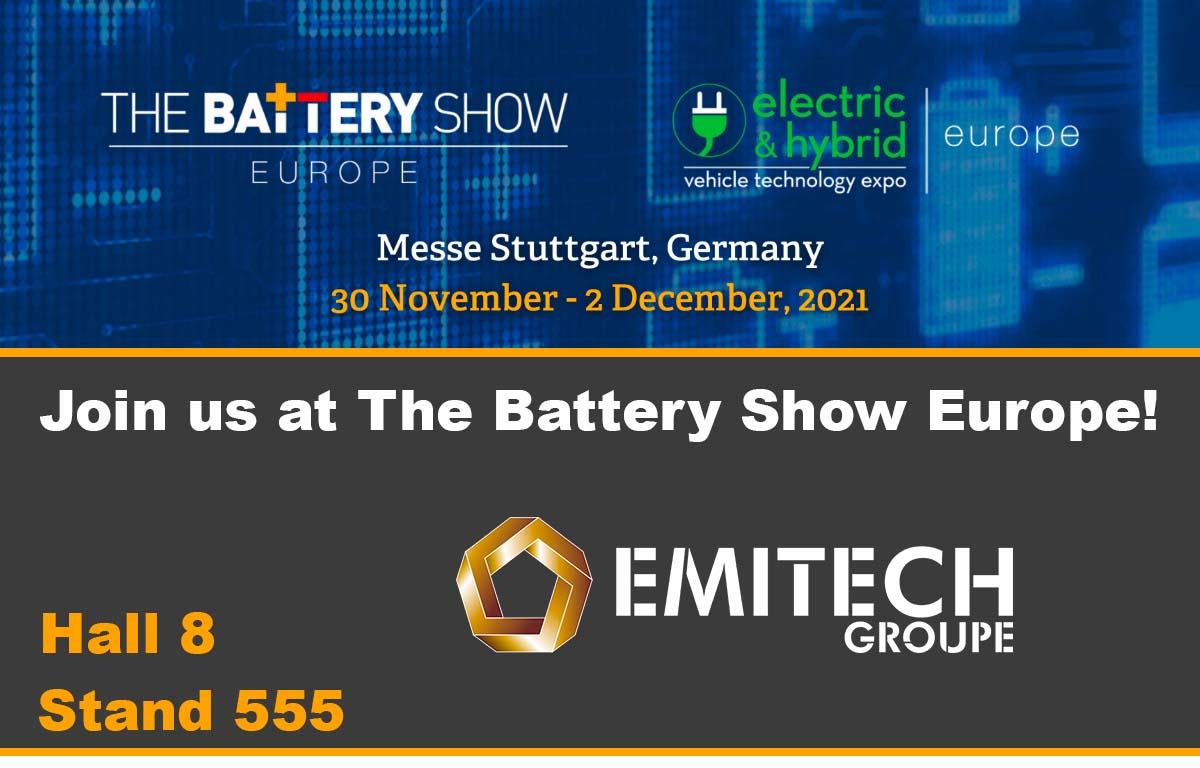 Battery Show Europe - Stuttgart