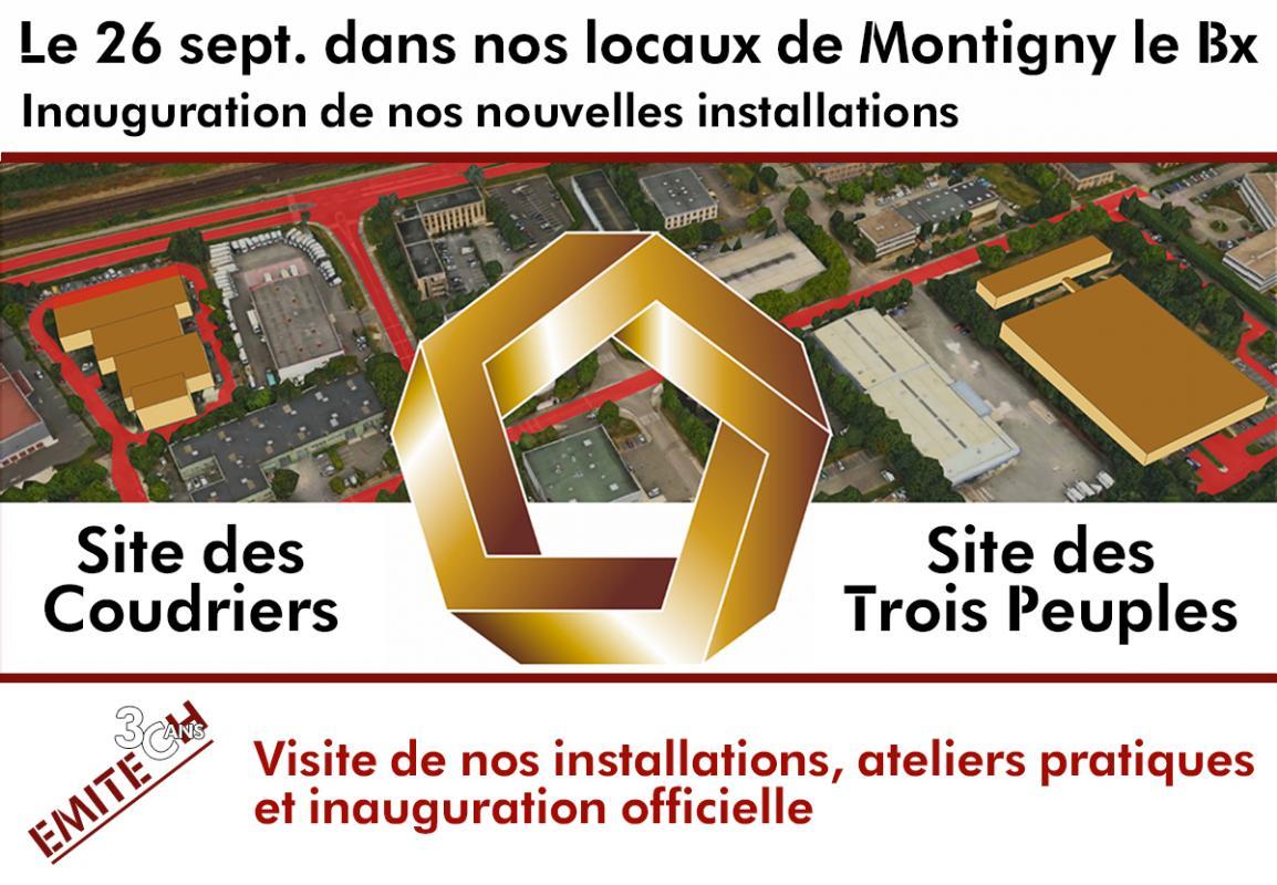 Emitech, centre de Montigny