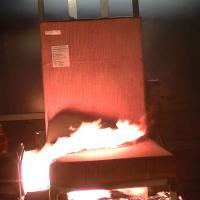 Essai feu intérieurs cabines et compartiments cargo - combustion des sièges