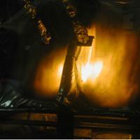 Essai feu intérieurs cabines et compartiments cargo - Propagation du feu aux matériaux isolants et phoniques