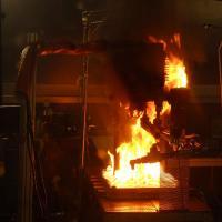 Essai feu intérieurs cabines et compartiments cargo - Essais de résistance au feu des revêtements