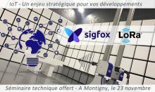 Séminaire technique IoT avec la collaboration de Sigfox et Lora