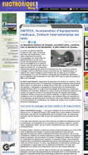 Test incorporation electroniqueMag