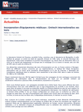 Incorporation mesures et tests