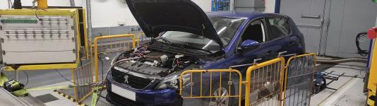 Banc à rouleaux - Emissions Euro 6