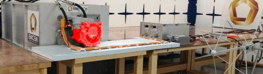 EMCEM - Installation de caractérisation électromagnétique de moteur électrique