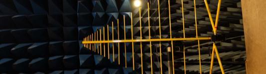 Essais CEM en cage de Faraday