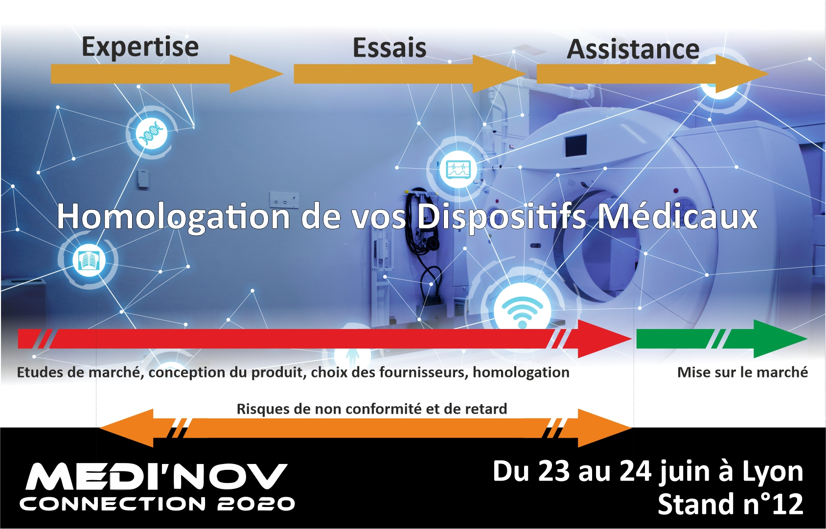 Med'inov - Solution du Groupe Emitech pour l'homologation de vos DM